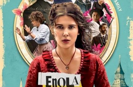 Netflix divulga cartazes dos personagens do filme Enola Holmes